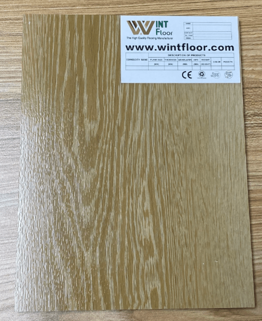 SPC Flooring Synchronised embossed and synchronised Surface flooring china